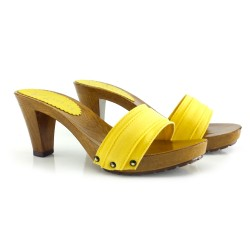 K5101YELLOW CLOGS- CONFORT CLOGS