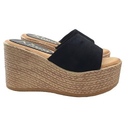 LADY WEDGE IN SUEDE