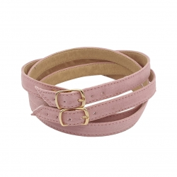 Pink strap for clogs